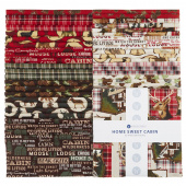 "Home Sweet Cabin 10"" Squares"