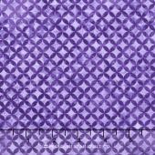 Peony Passion - Tile Purple Yardage