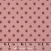 Olive's Flower Market - Parisian Dots Pretty Pink Yardage