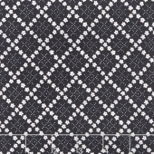 Guernsey - Kit Flower Plaid Charcoal Yardage