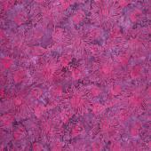 Tonga Batiks - Celebrity Floral Bursts Passion Yardage
