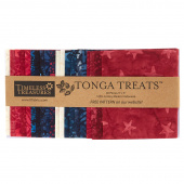 Tonga Treats Batiks - Patriots Minis