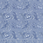 Regency Ballycastle Chintz 18th Century - Ballybofey English Blue Yardage