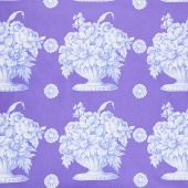 Kaffe Fassett Collective Fall 2018 - Stone Flower Lavender Yardage