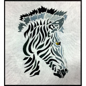 Zebra SewFari Laser Cut Kit