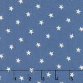 Crystal Lake - Stars Light Blue Yardage
