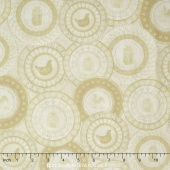 Farm to Table - Farm Patches Cream Yardage