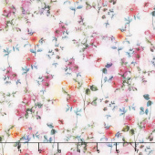 Fleur Couture - Georgette Blush Digitally Printed Yardage
