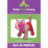 Patch Pussycat Funky Friends Factory Pattern