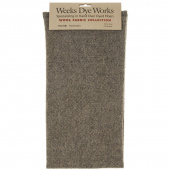 Weeks Dye Works Hand Over Dyed Wool Fat Quarter - Herringbone Parchment