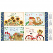 Country Road Market - Placemat Multi Panel