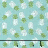Club Havana - Pineapple Aqua Yardage