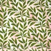 Peony Passion - Leaves Pink Yardage