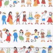We Share One World - Children Multi Yardage