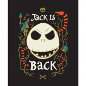 Jack is Back - Tim Burton's The Nightmare Before Christmas Jack is Back Multi Glow in the Dark Panel