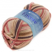 Encore Worsted Colorspun Roses Yarn 100g