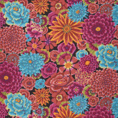 Kaffe Fassett Collective Fall 2018 - Enchanted Dark Yardage
