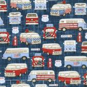All American Road Trip - Vans Navy Yardage