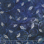 Artisan Batiks - Northwoods 7 Leaves Winter Metallic Yardage
