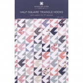 Half-Square Triangle Hooks Quilt Pattern by Missouri Star