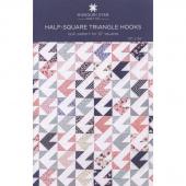 Half-Square Triangle Hooks Quilt Pattern by Missouri Star