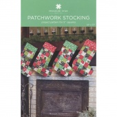 Patchwork Stocking Pattern by Missouri Star
