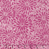 Caribbean Breeze Batiks - Mum Bubblegum Yardage