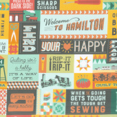 Missouri Star Souvenir Collection - Welcome to Hamilton Multi Yardage