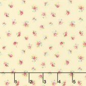 Amberley - Little Rose Polka Dot Sunshine Yardage