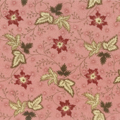 Harriet's Handwork 1820-1840 - Merrimack River Sweet Pink Yardage