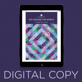 Digital Download - Half Square Triangles Around the World by Missouri Star