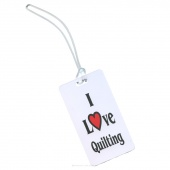 Luggage Tag - I Love Quilting