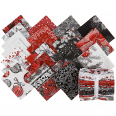 Holiday Flourish 13 Silver Metallic Fat Quarter Bundle