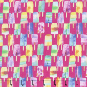 Sweet Treats - Popsicle Raspberry Yardage