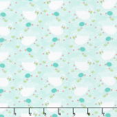 Enchanted - Swan Dewdrop Yardage