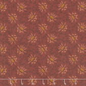 Scrap Happy - Lacey Design Red Yardage