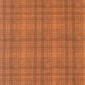 Woolies Flannel - Windowpane Orange Yardage