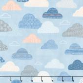 Wild & Free - Cloudy Skies Sky Yardage