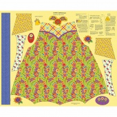 Chatterbox Aprons - Chatterbox Yellow Panel