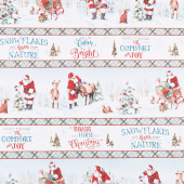 A Magical Christmas - Repeating Stripe Multi Yardage
