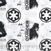 Star Wars: Rogue One - Darth Vader White Yardage