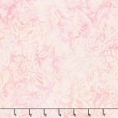 Icing on the Cake Batiks - Packed Floral Mix Cream/Pink Yardage