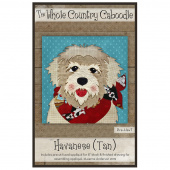 Havanese Tan Precut Fused Appliqué Pack