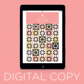 Digital Download - Pop Stars Quilt Pattern by Missouri Star