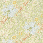Morris Garden - Golden Lily 1897 Porcelain Yardage