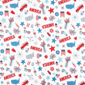 Fireworks & Freedom - America Motifs Yardage