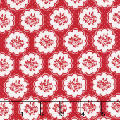 So Ruby - Scallop Red Yardage