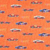 Hot Wheels - Main Orange Yardage