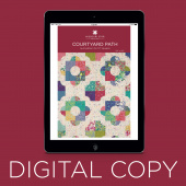 Digital Download - Courtyard Path Quilt Pattern by Missouri Star