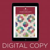 Digital Download - Courtyard Path Quilt Pattern by Missouri Star